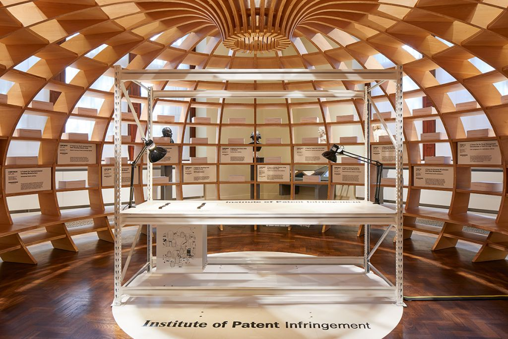 The Institute of Patent Infringement, Victoria & Albert Museum, London Design Festival, 2018. Photo: Andy Stagg