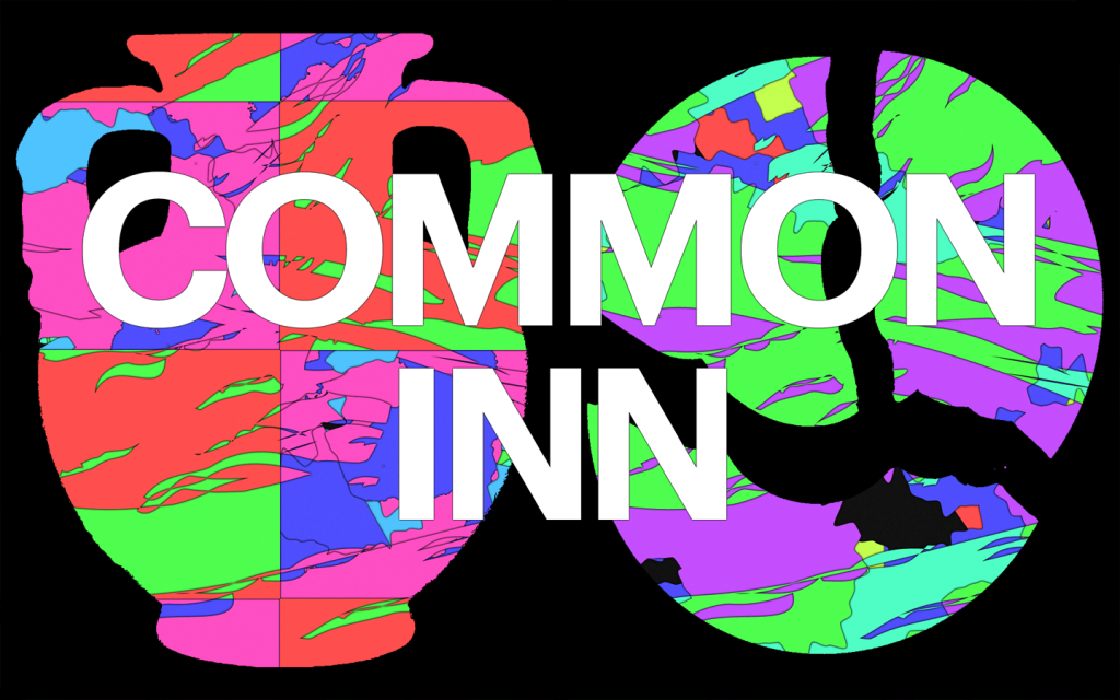 Common Inn. Graphic design Gilles de Brock, 2019.